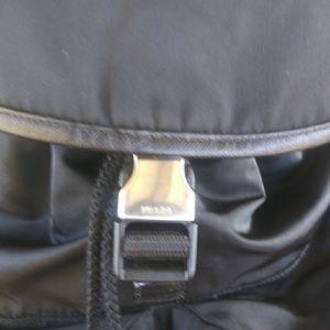 Prada tresslor backpack